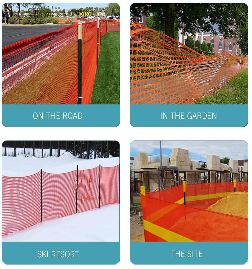 PE security fence