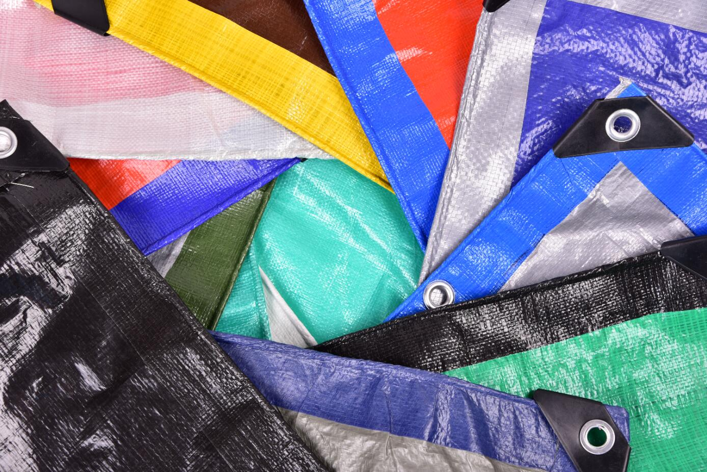 PE tarpaulin maintenance and storage