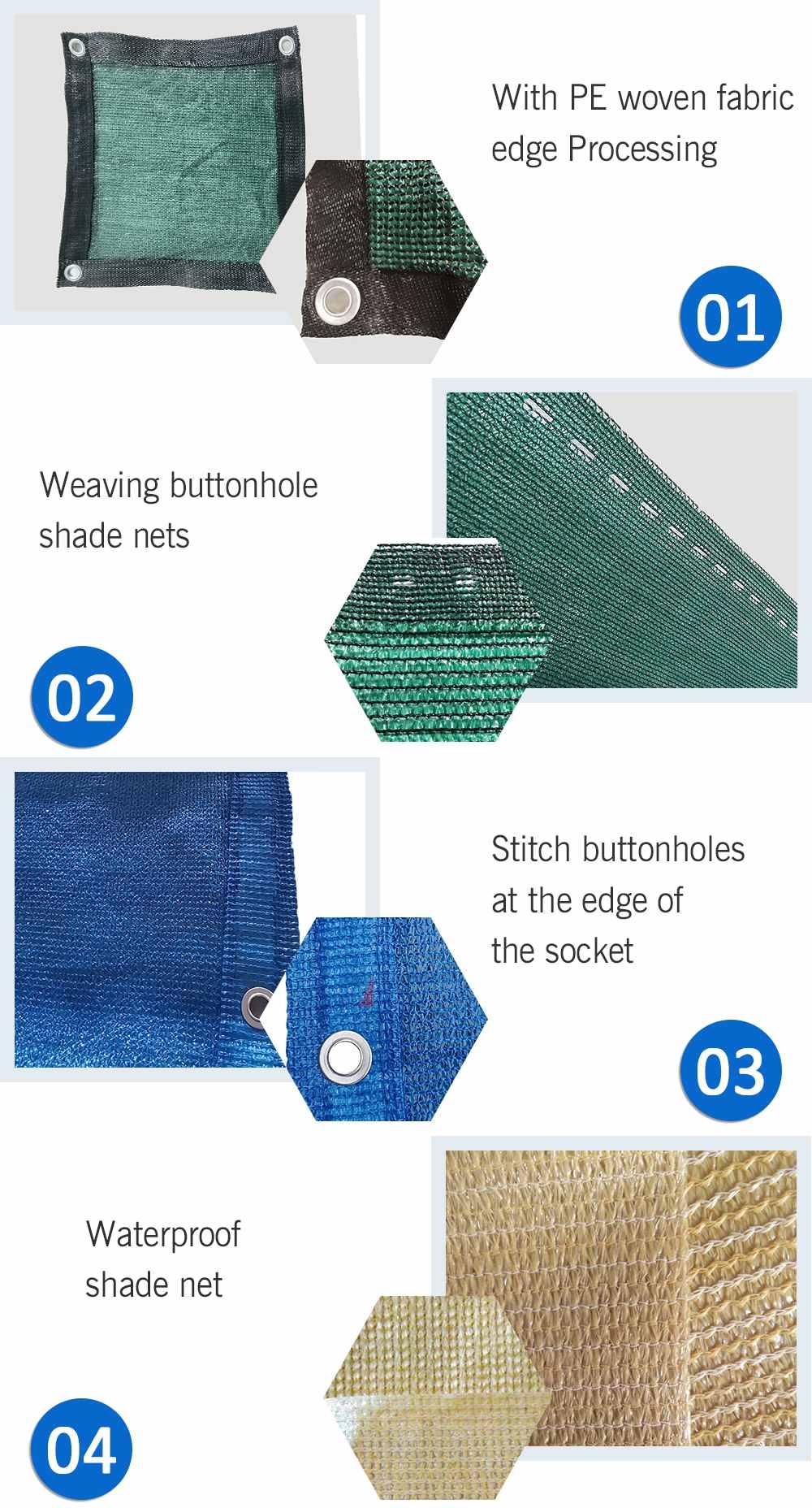 Moisturizing principle of shade net