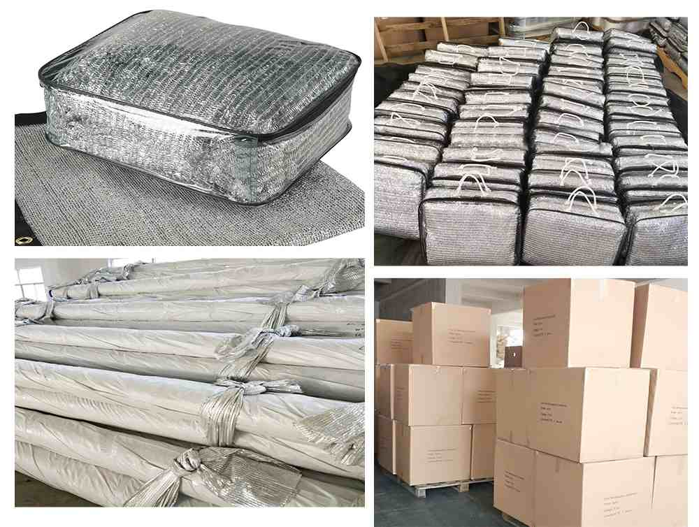 Aluminum foil shade net