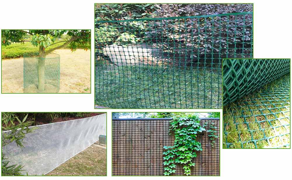 Introduction of garden plastic fence
