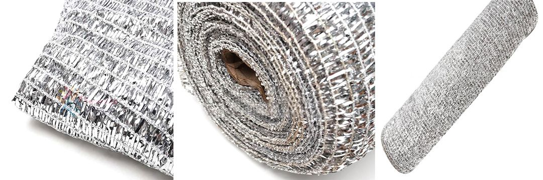 Introduction of aluminum foil insulation shade net