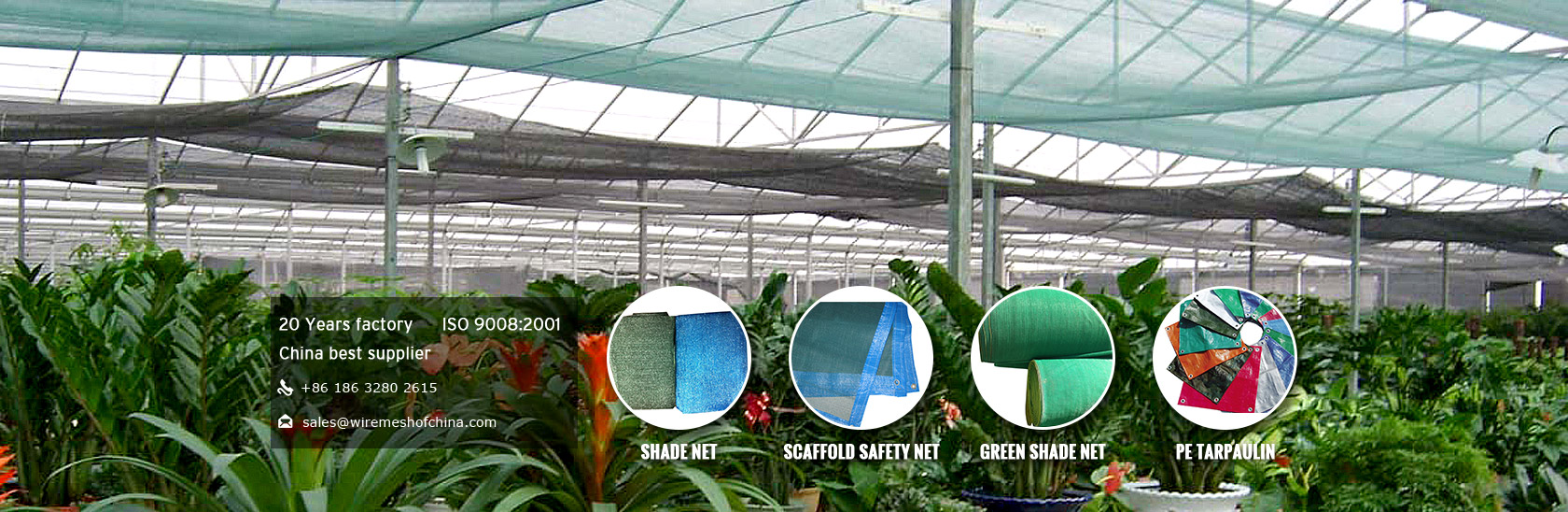 Agriculture Netting, Fiberglass Mesh Series, Security Fence Series