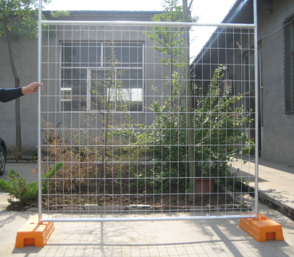 Temporary fence removable security