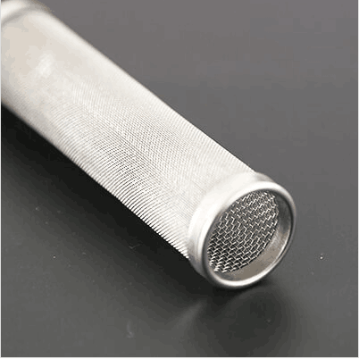 Steel Perforated Screen Cylinder Filter Element
